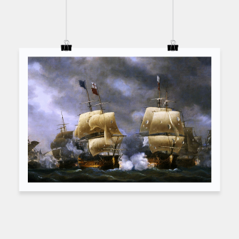 Thumbnail image of Battle of Quiberon Bay Poster, Live Heroes