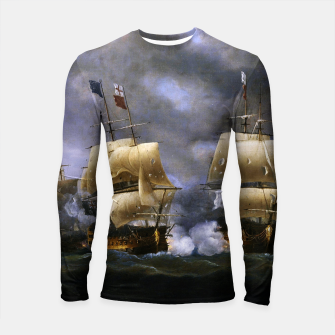 Thumbnail image of Battle of Quiberon Bay Longsleeve rashguard , Live Heroes