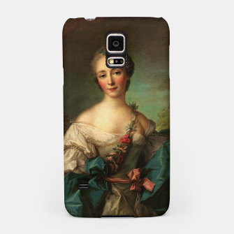 Thumbnail image of Portrait of a Young Woman by Jean-Marc Nattier Samsung Case, Live Heroes