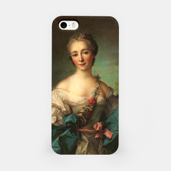 Thumbnail image of Portrait of a Young Woman by Jean-Marc Nattier iPhone Case, Live Heroes