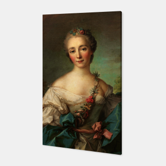 Thumbnail image of Portrait of a Young Woman by Jean-Marc Nattier Canvas, Live Heroes