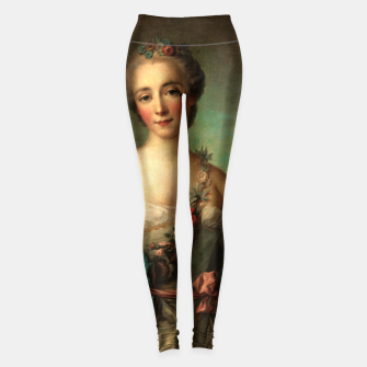 Thumbnail image of Portrait of a Young Woman by Jean-Marc Nattier Leggings, Live Heroes