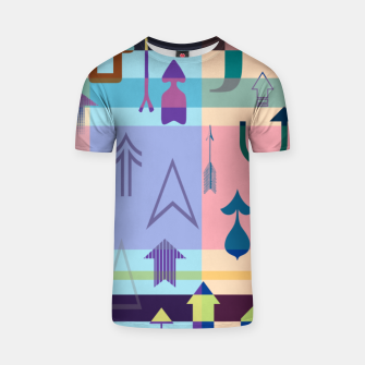 Thumbnail image of Up....Keep going! T-shirt, Live Heroes