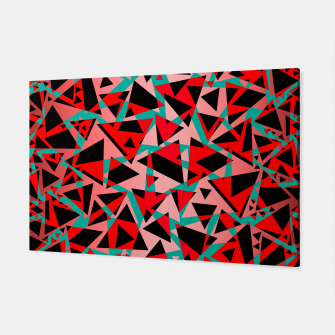 Thumbnail image of Pieces of colorful broken glass print  Canvas, Live Heroes