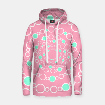 Tunnel of bubbles, pink and blue Hoodie miniature