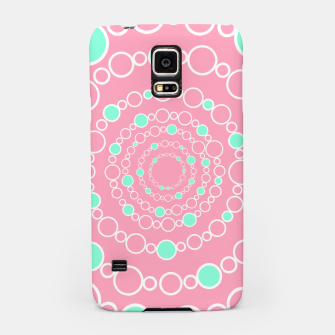 Tunnel of bubbles, pink and blue Samsung Case miniature