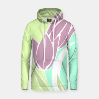Thumbnail image of Tulips, botanical spring print Hoodie, Live Heroes