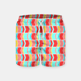 Thumbnail image of Left and right arrows, directions print  Swim Shorts, Live Heroes