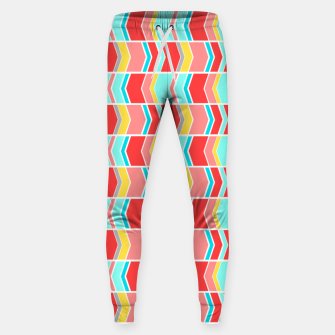 Thumbnail image of Left and right arrows, directions print  Sweatpants, Live Heroes