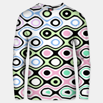 Thumbnail image of Asymmetry collection: contrasts Unisex sweater, Live Heroes