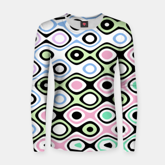 Thumbnail image of Asymmetry collection: contrasts Women sweater, Live Heroes