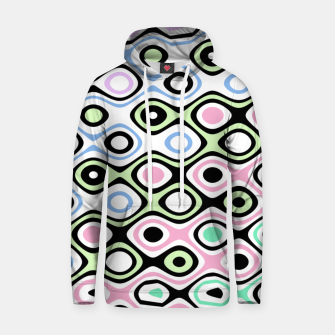 Asymmetry collection: contrasts Hoodie miniature
