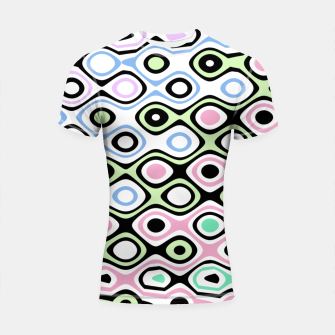 Thumbnail image of Asymmetry collection: contrasts Shortsleeve rashguard, Live Heroes