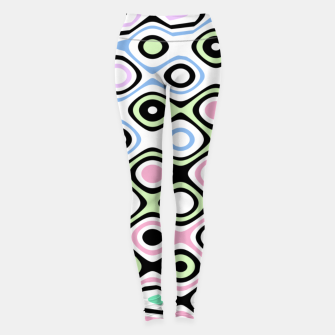 Thumbnail image of Asymmetry collection: contrasts Leggings, Live Heroes