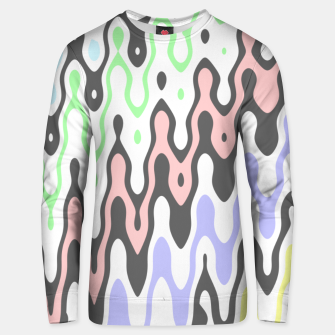 Asymmetry collection: waves Unisex sweater miniature
