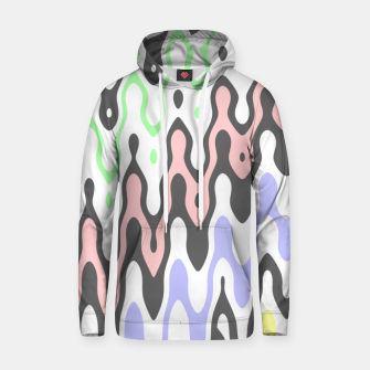 Asymmetry collection: waves Hoodie miniature