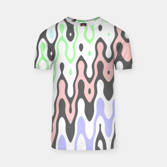 Asymmetry collection: waves T-shirt miniature