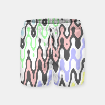 Asymmetry collection: waves Swim Shorts miniature