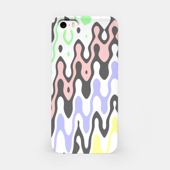 Asymmetry collection: waves iPhone Case miniature