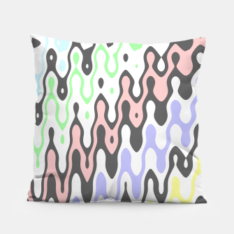 Asymmetry collection: waves Pillow miniature