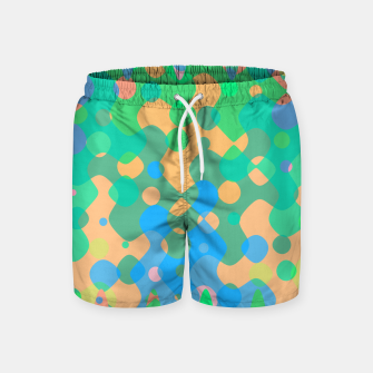Asymmetry collection: imagination  Swim Shorts miniature