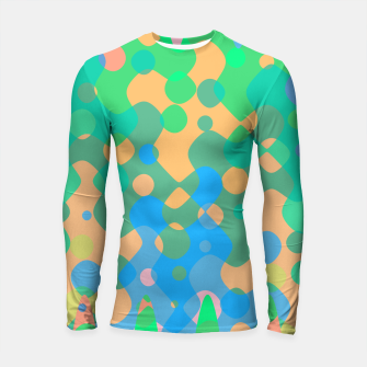Asymmetry collection: imagination  Longsleeve rashguard  miniature