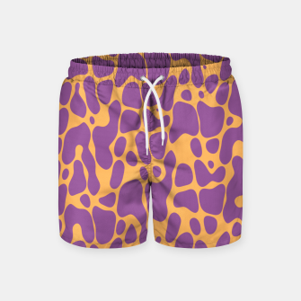 Asymmetry collection: the animal  Swim Shorts miniature