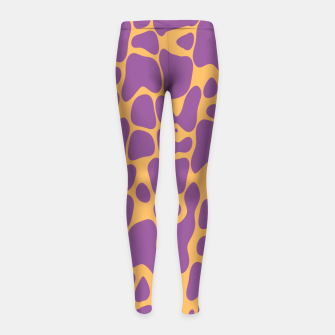 Asymmetry collection: the animal  Girl's leggings miniature