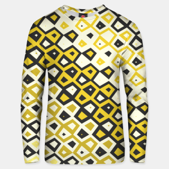 Asymmetry collection: retro shapes and colors Unisex sweater miniature
