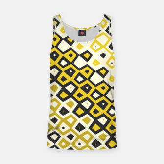 Asymmetry collection: retro shapes and colors Tank Top miniature