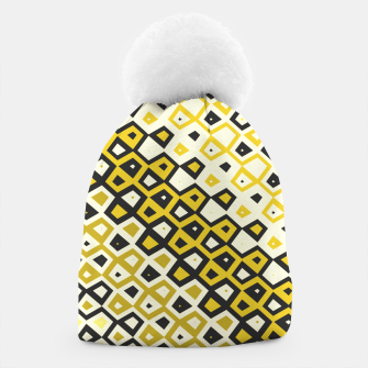Asymmetry collection: retro shapes and colors Beanie miniature