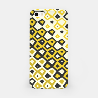 Asymmetry collection: retro shapes and colors iPhone Case miniature