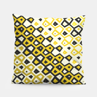 Asymmetry collection: retro shapes and colors Pillow miniature
