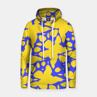 Asymmetry collection: abstract flowers in the water Hoodie miniature