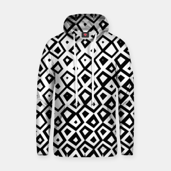 Miniature de image de Asymmetry collection: black and white geometry Hoodie, Live Heroes