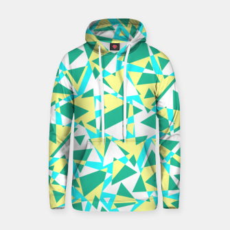 Miniatur Pieces of colorful broken glass in summer colors Hoodie, Live Heroes