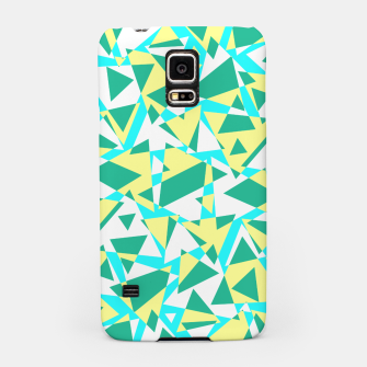 Miniatur Pieces of colorful broken glass in summer colors Samsung Case, Live Heroes