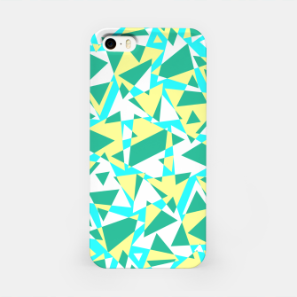 Miniatur Pieces of colorful broken glass in summer colors iPhone Case, Live Heroes