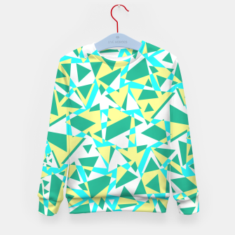 Thumbnail image of Pieces of colorful broken glass in summer colors Kid's sweater, Live Heroes
