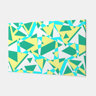 Thumbnail image of Pieces of colorful broken glass in summer colors Canvas, Live Heroes