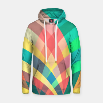Thumbnail image of In the circus, colorful pastel shapes  Hoodie, Live Heroes