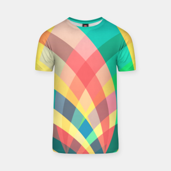 Thumbnail image of In the circus, colorful pastel shapes  T-shirt, Live Heroes