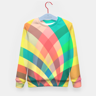 Imagen en miniatura de In the circus, colorful pastel shapes  Kid's sweater, Live Heroes