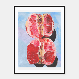 Miniaturka Blood oranges Framed poster, Live Heroes