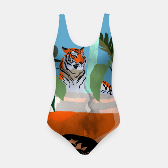 Miniatur Coffee tiger Swimsuit, Live Heroes