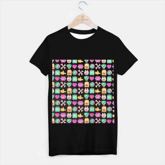 Miniatur Love robots and other stuff T-shirt regular, Live Heroes