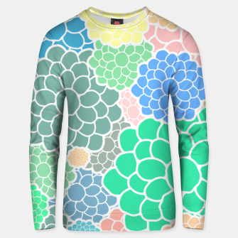 Thumbnail image of Blooming chrysanthemums flowers in pastel colors Unisex sweater, Live Heroes