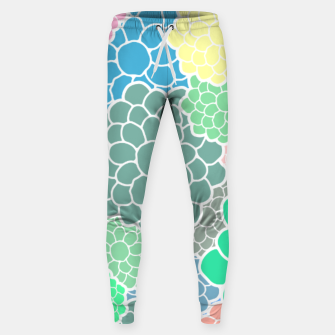 Thumbnail image of Blooming chrysanthemums flowers in pastel colors Sweatpants, Live Heroes