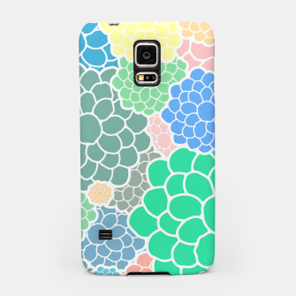 Thumbnail image of Blooming chrysanthemums flowers in pastel colors Samsung Case, Live Heroes