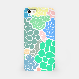 Thumbnail image of Blooming chrysanthemums flowers in pastel colors iPhone Case, Live Heroes